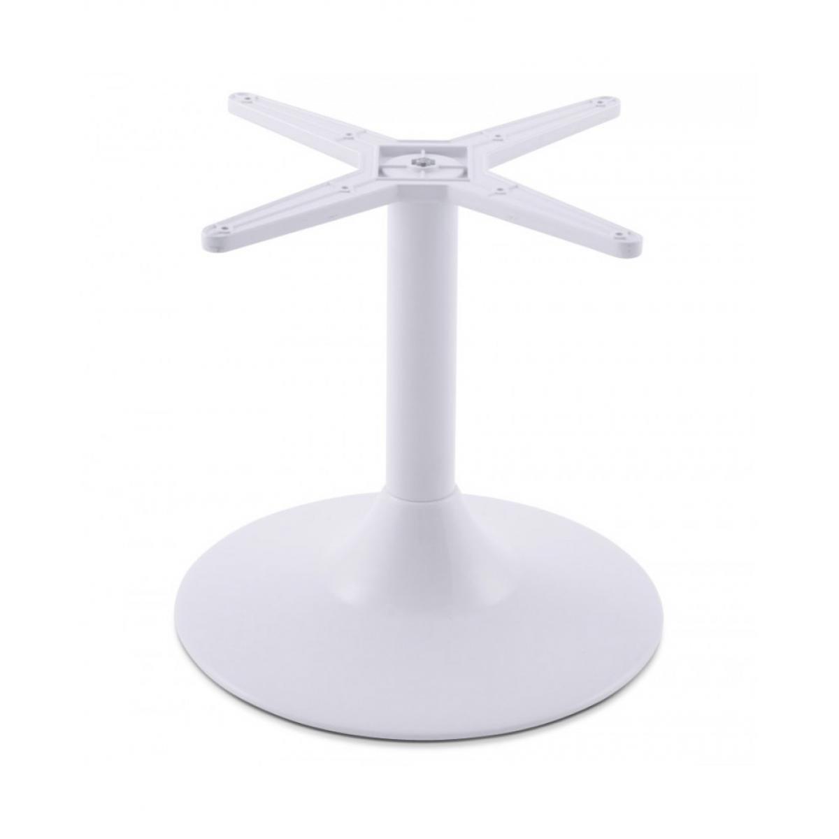 Kokoon Design pied de table (sans plateau) 45 cm WHITE 43x43x44 cm