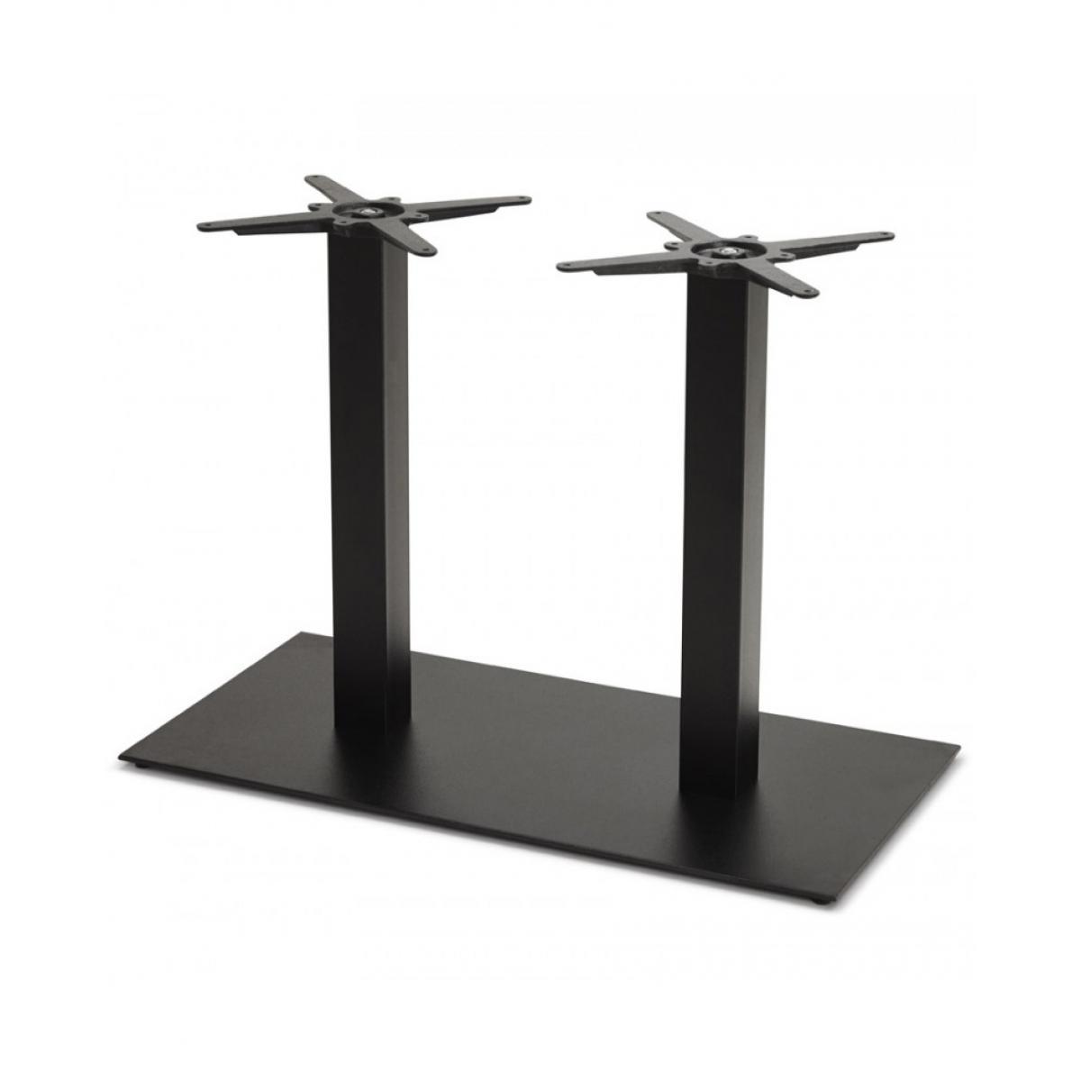 Kokoon Design Pied de table sans plateau BLACK 50x100x73 cm