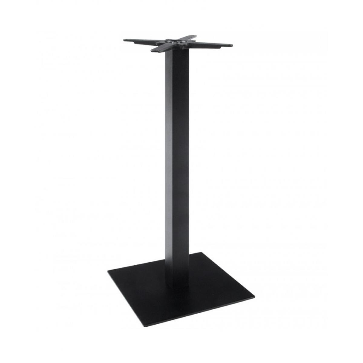 Kokoon Design pied de table (sans plateau) 110cm BLACK 50x50x110 cm