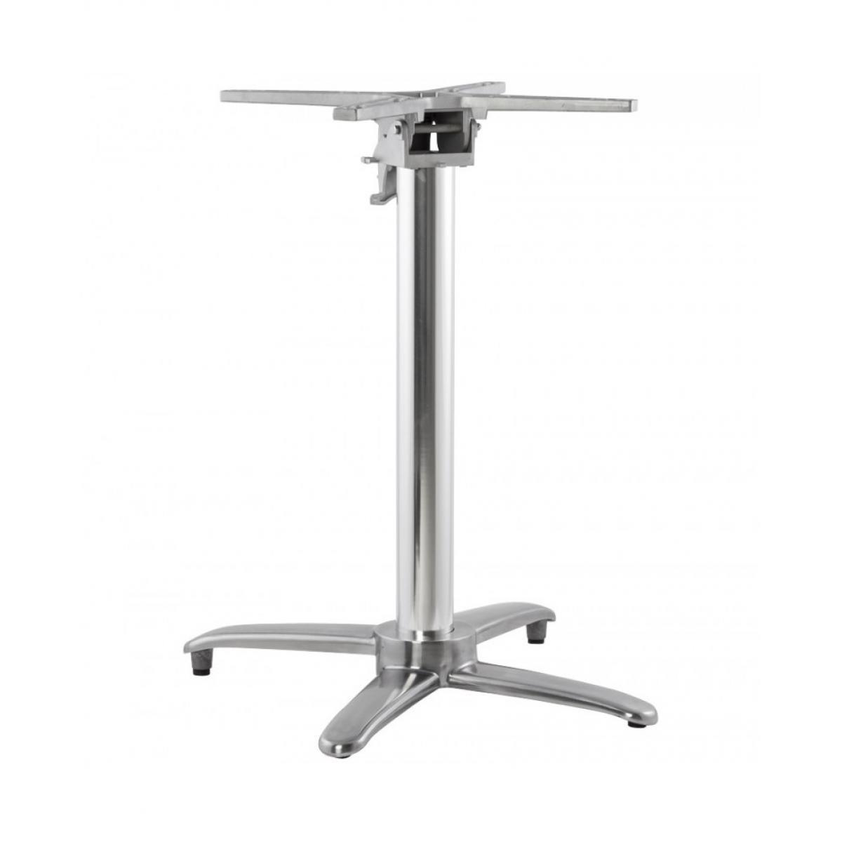 Kokoon Design Pied de table (sans plateau) 75cm ALU 62x62x74 cm
