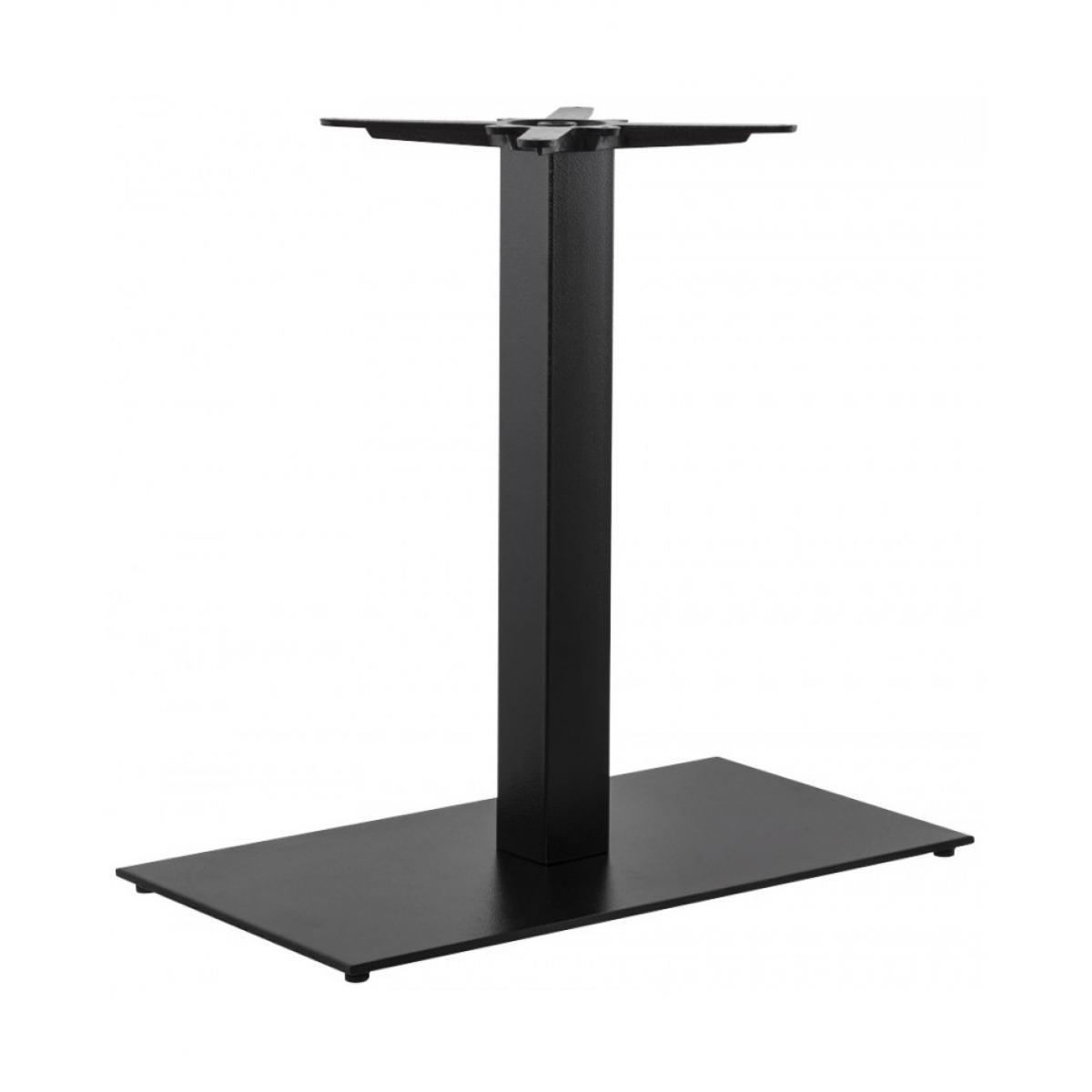 Kokoon Design Pied de table (sans plateau) 75cm BLACK 40x75x75 cm