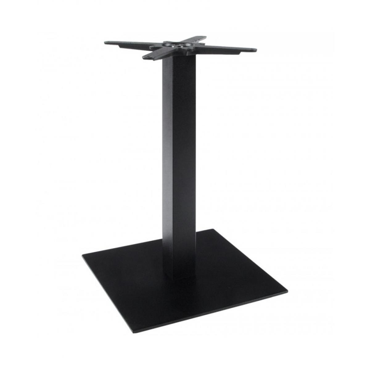Kokoon Design pied de table sans plateau 75cm BLACK 50x50x73 cm