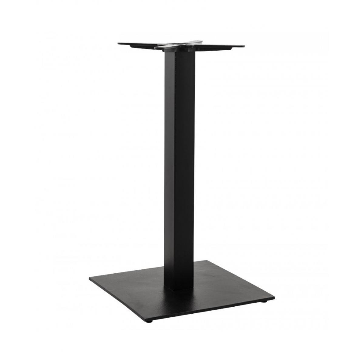 Kokoon Design Pied de table sans plateau 90cm BLACK 50x50x90 cm