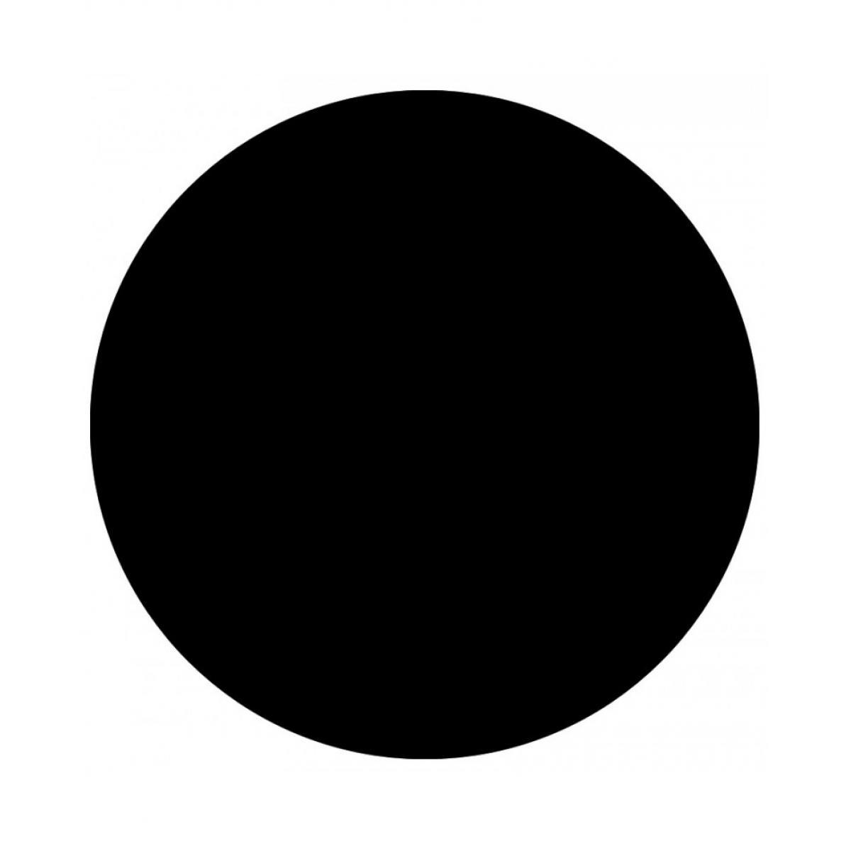 Kokoon Design Plateau de table BLACK 60x60x2 cm