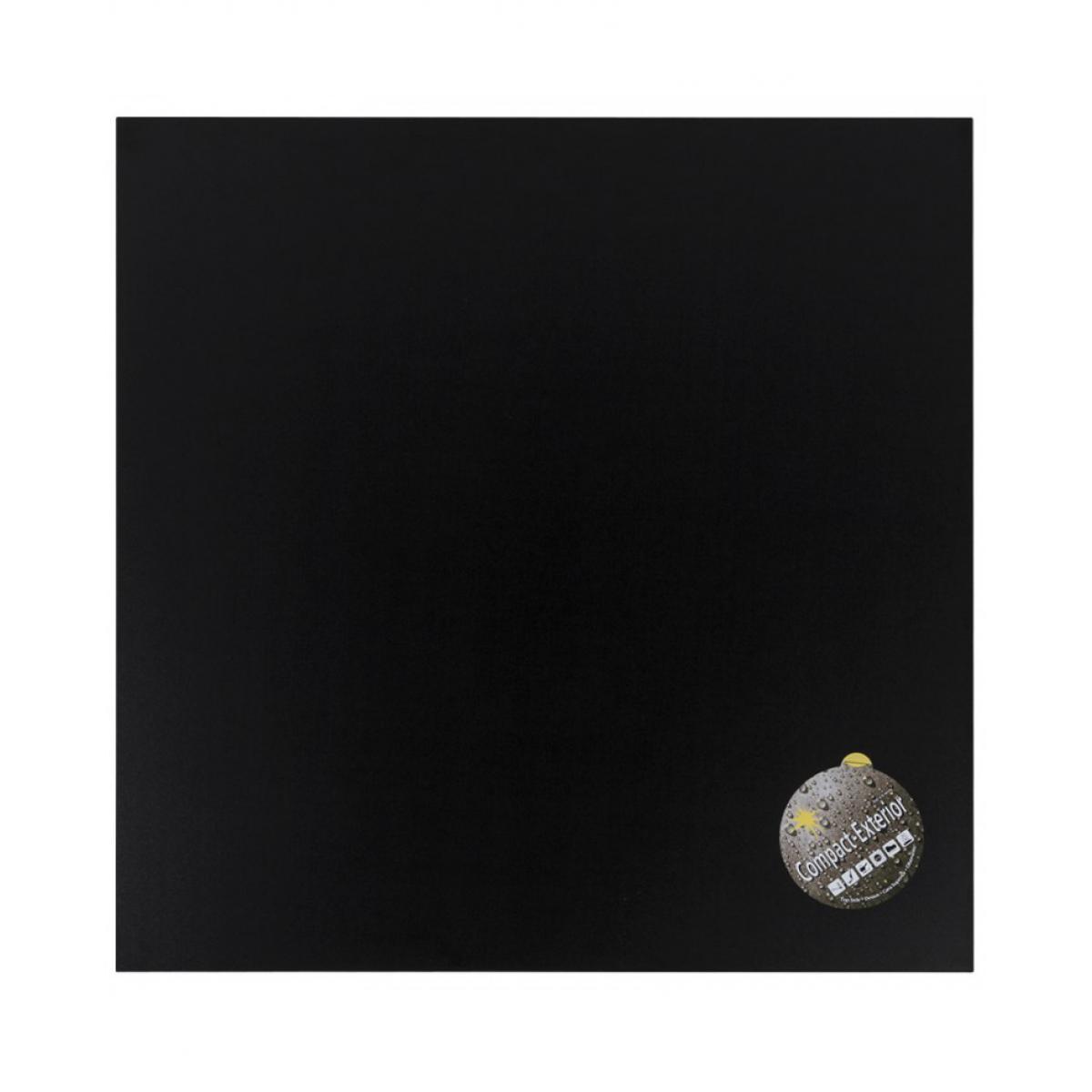Kokoon Design Plateau de table BLACK 60x60x3 cm