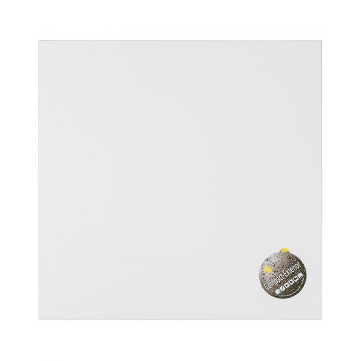 Kokoon Design Plateau de table WHITE 60x60x3 cm