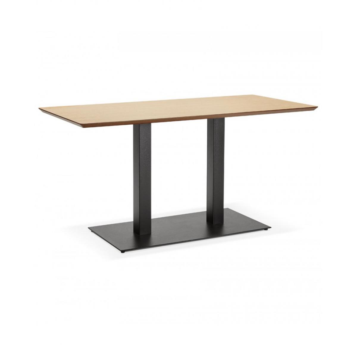 Kokoon Design Table à diner design JAKADI NATURAL 70x150x75 cm