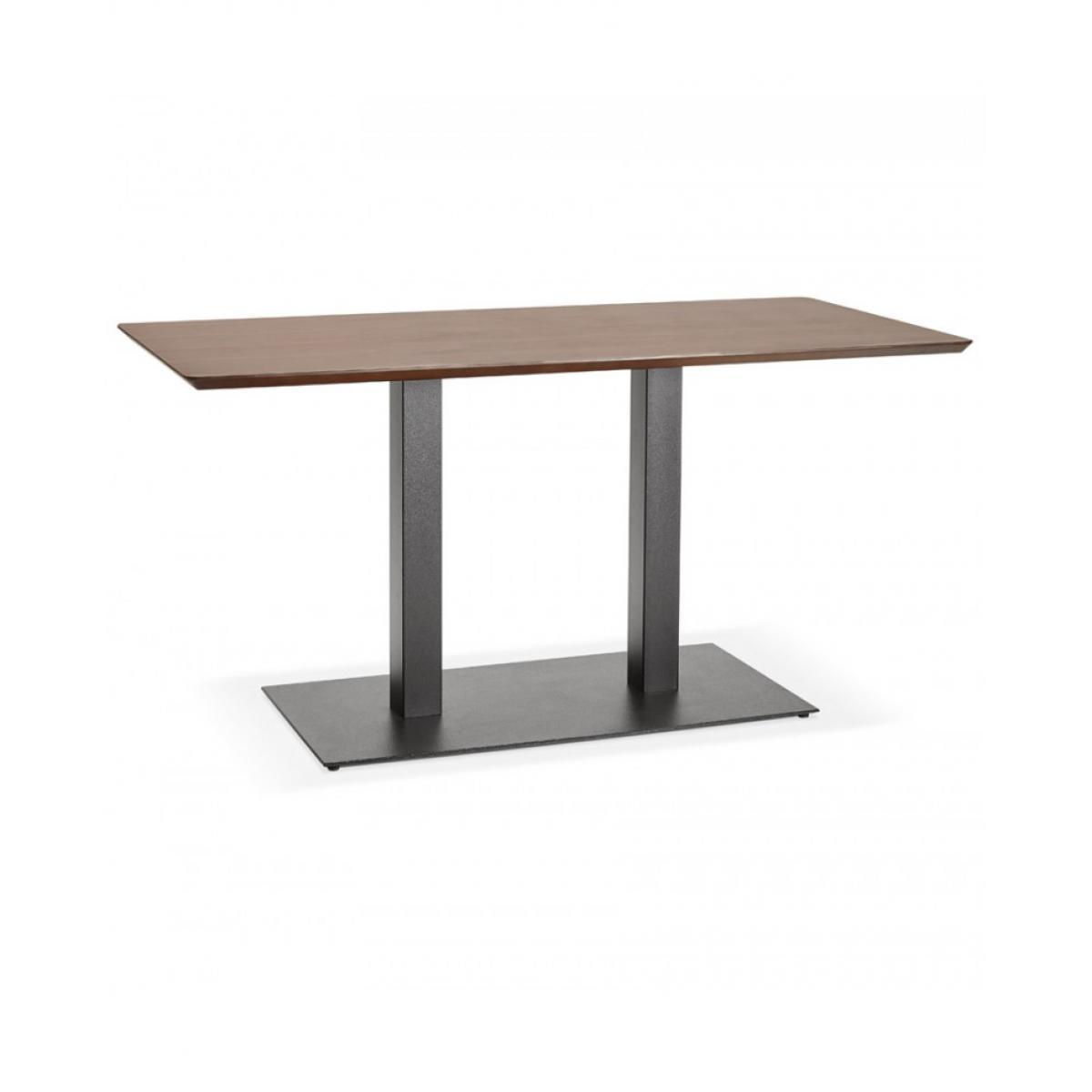 Kokoon Design Table à diner design JAKADI WALNUT 70x150x75 cm
