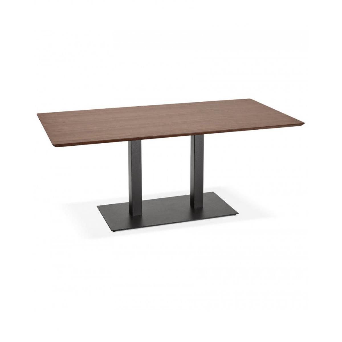 Kokoon Design Table à diner design JAKADI WALNUT 90x180x75 cm