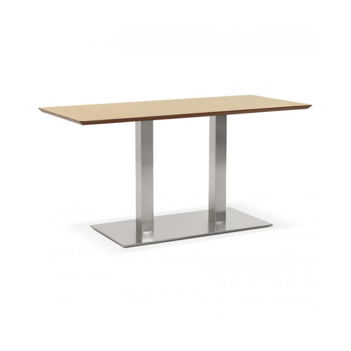Kokoon Design Table à diner design RECTA NATURAL 70x150x75 cm