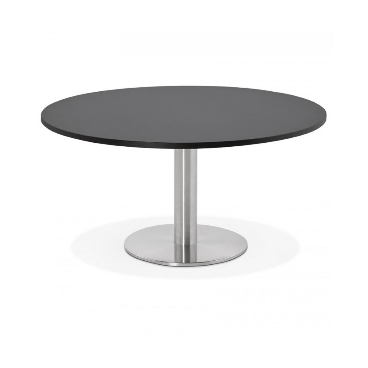 Kokoon Design Table basse design MARCO BLACK 90x90x45 cm