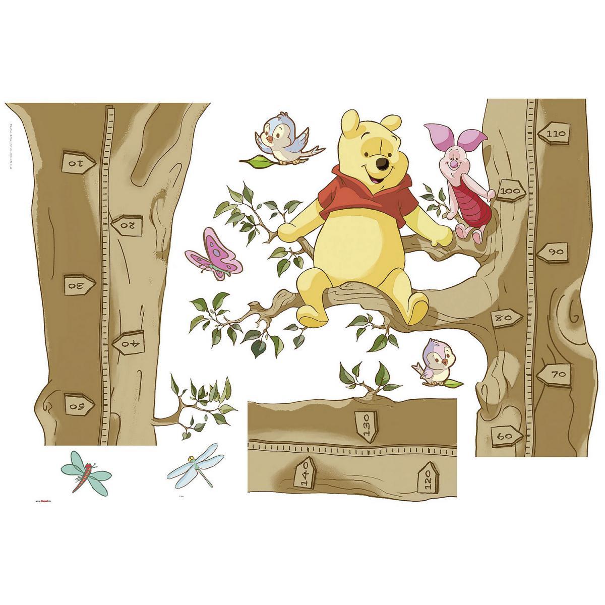 Komar Sticker Mural Disney Winnie Winnie Pooh Size