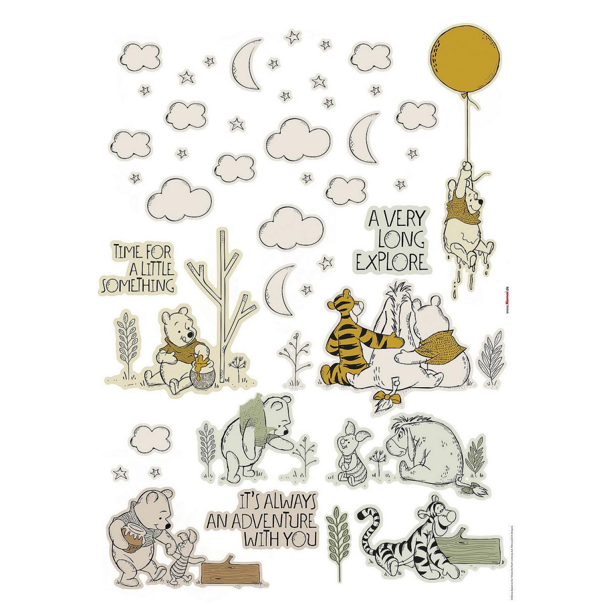 Komar Stickers Muraux Disney Winnie l'Ourson Winnie Woodland