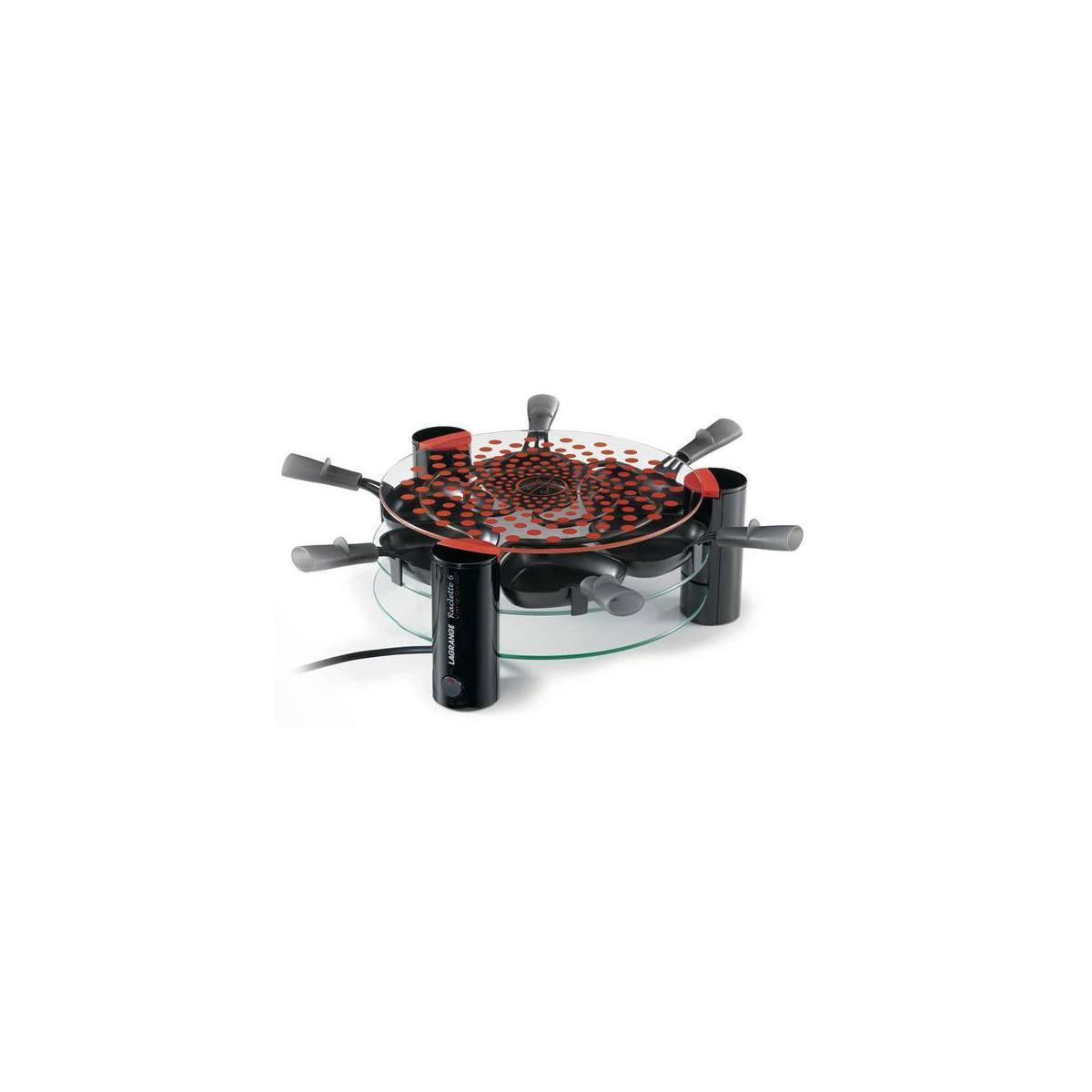 Lagrange Raclette Vitro Grill 6 Pers Lagrange - 009631