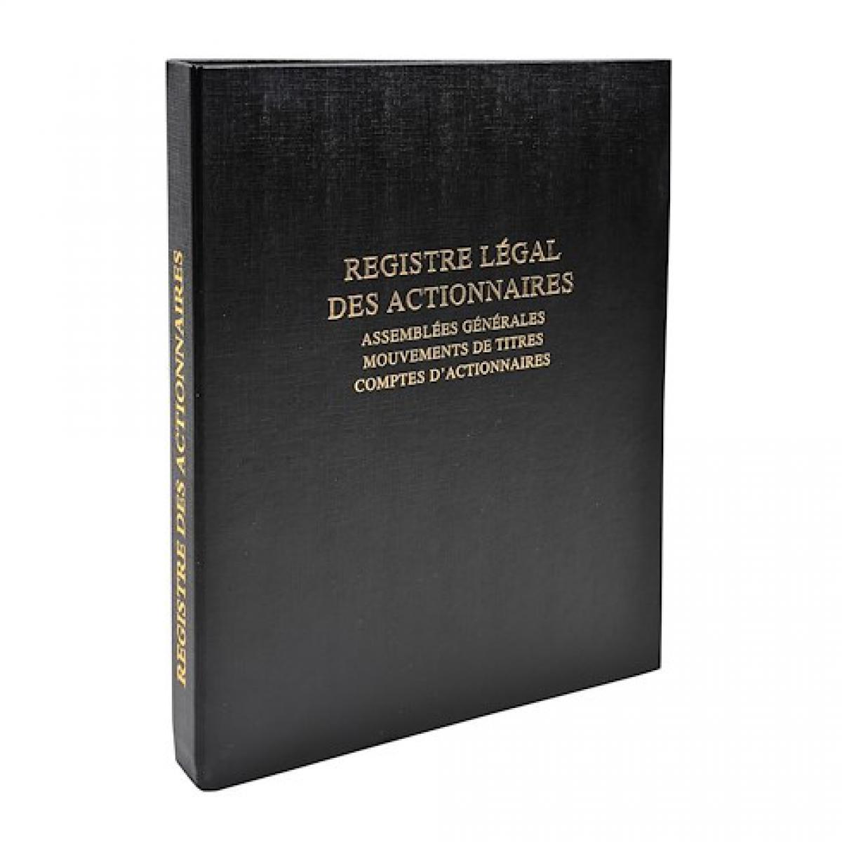 Le Dauphin Registre des actionnaires Dauphin 942D 26,5 x 32 cm.