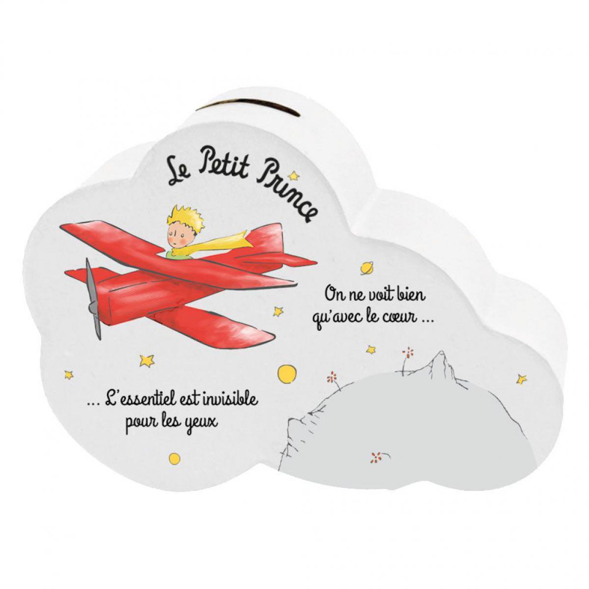 Le Petit Prince Tirelire Petit Prince nuage en céramique