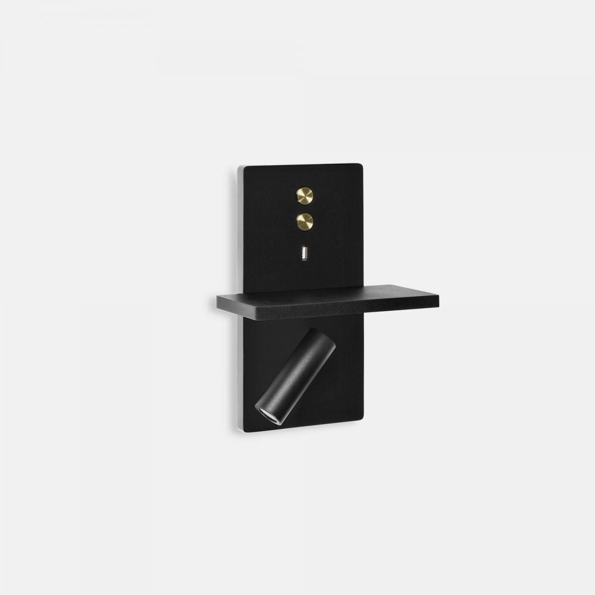 Leds C4 Liseuse LED USB Light Black