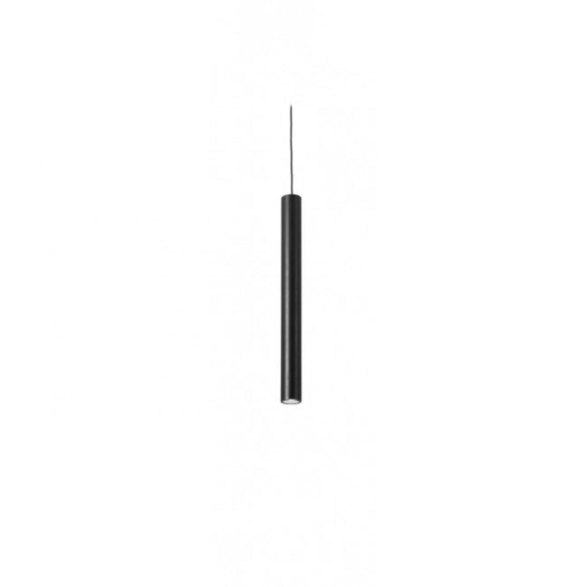 Leds C4 Suspension 30 cm Stylus, aluminium, noir