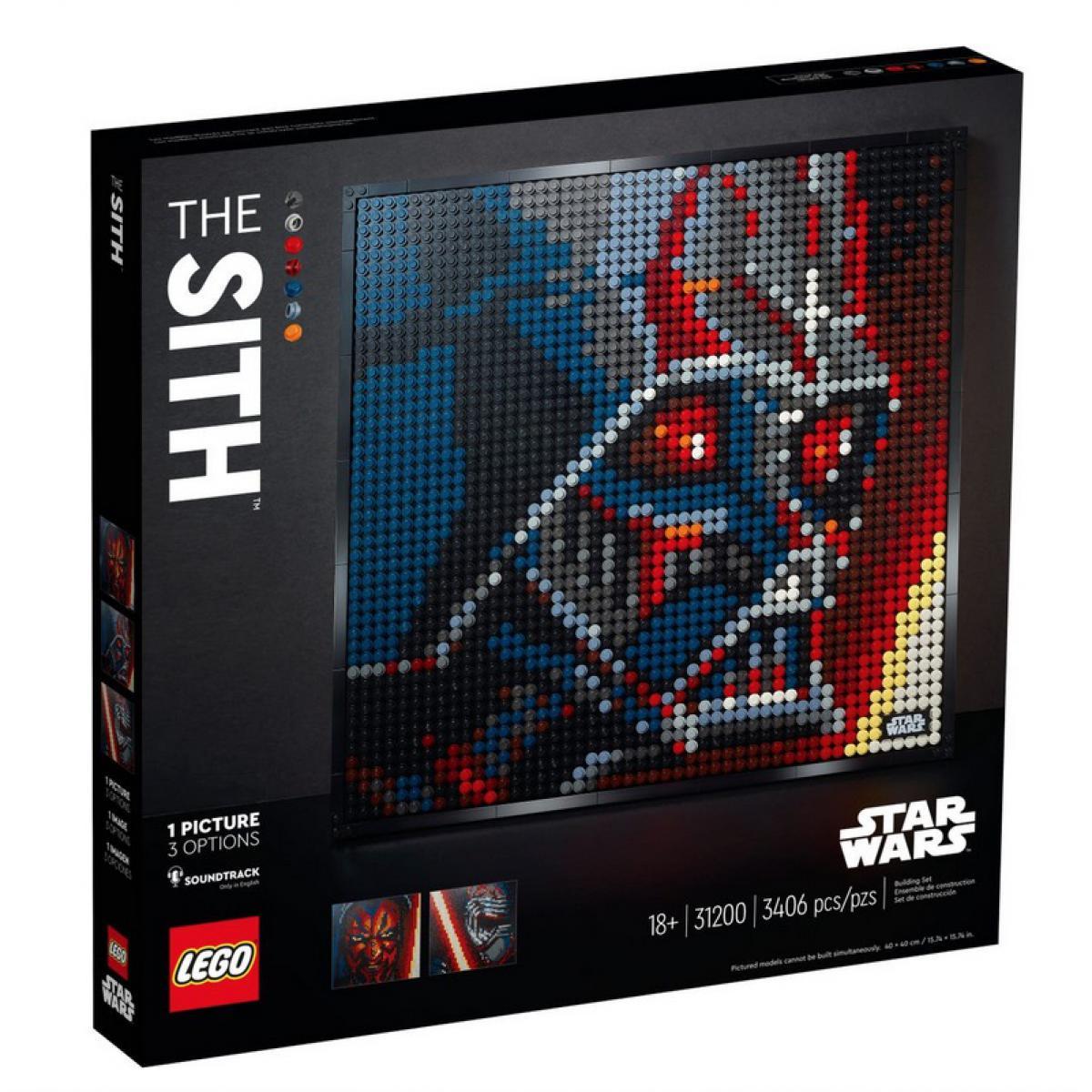 Lego 31200 Star Wars™ Les Sith™ LEGO® Art