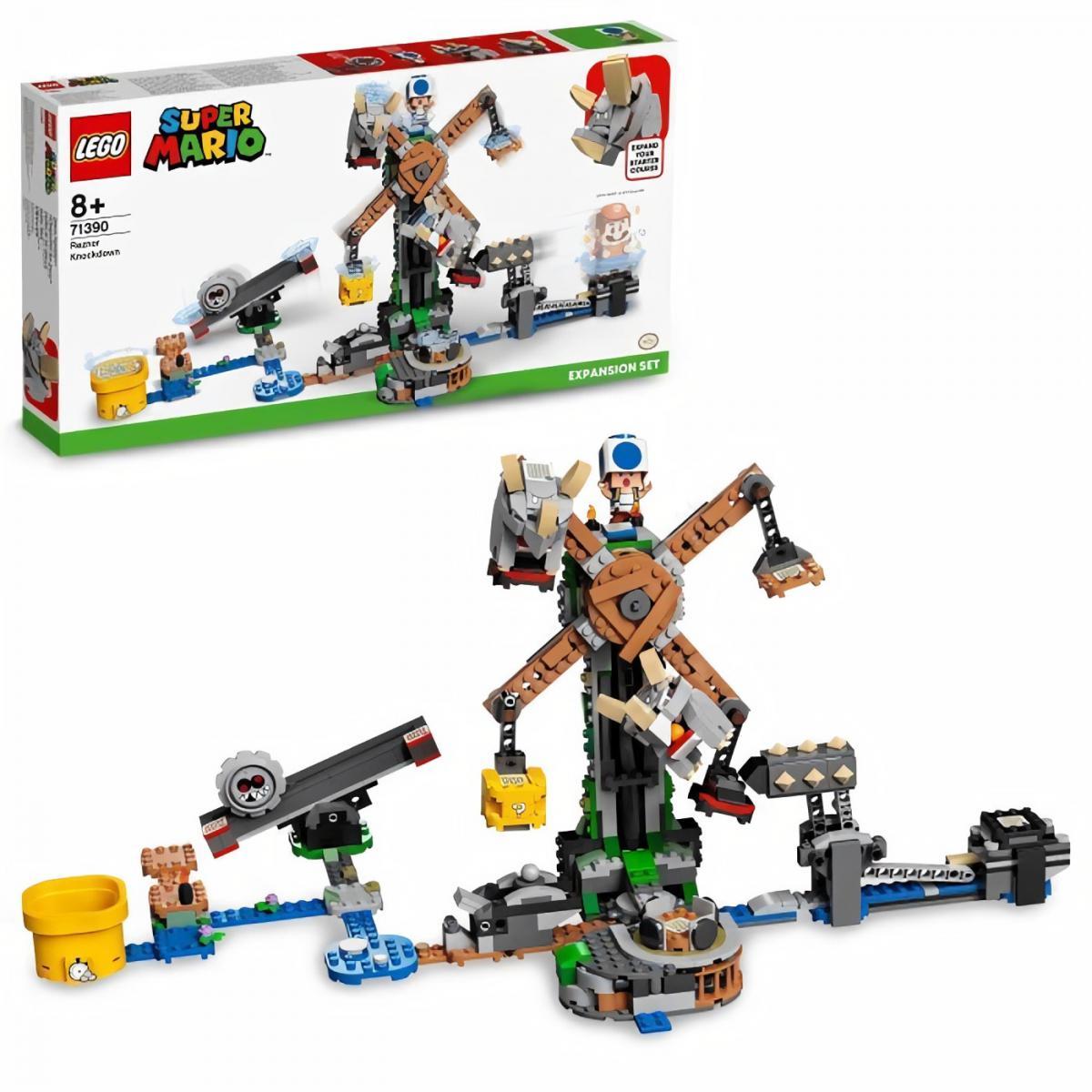 Lego LEGO 71390 Super Mario Ensemble d'extension La destruction des Reznors Jouet enfant 6 ans