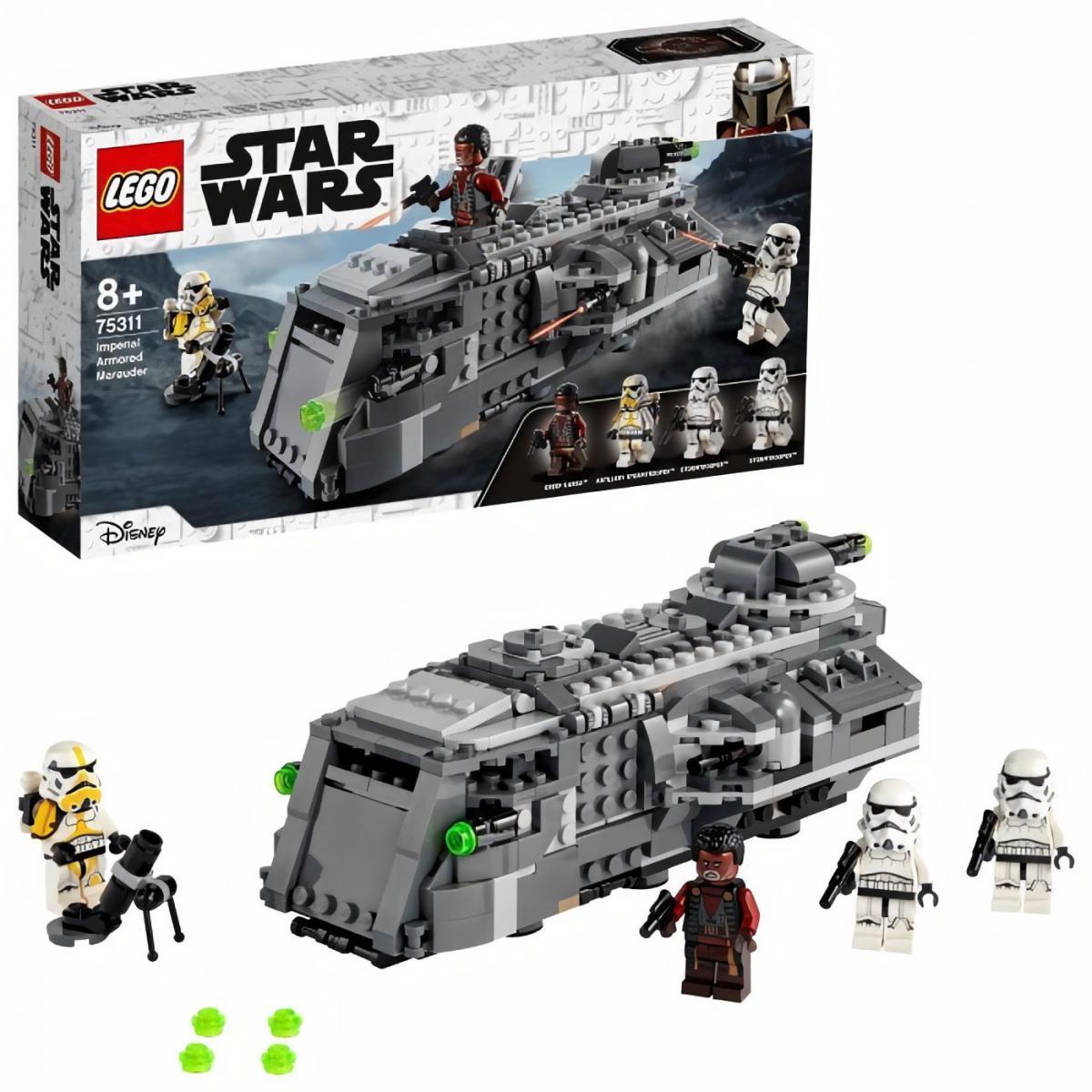 Lego LEGO 75311 Star Wars Le Maraudeur Blindé Impérial, Jouet pour Enfants de 8 ans et plus, avec 4 Figurines