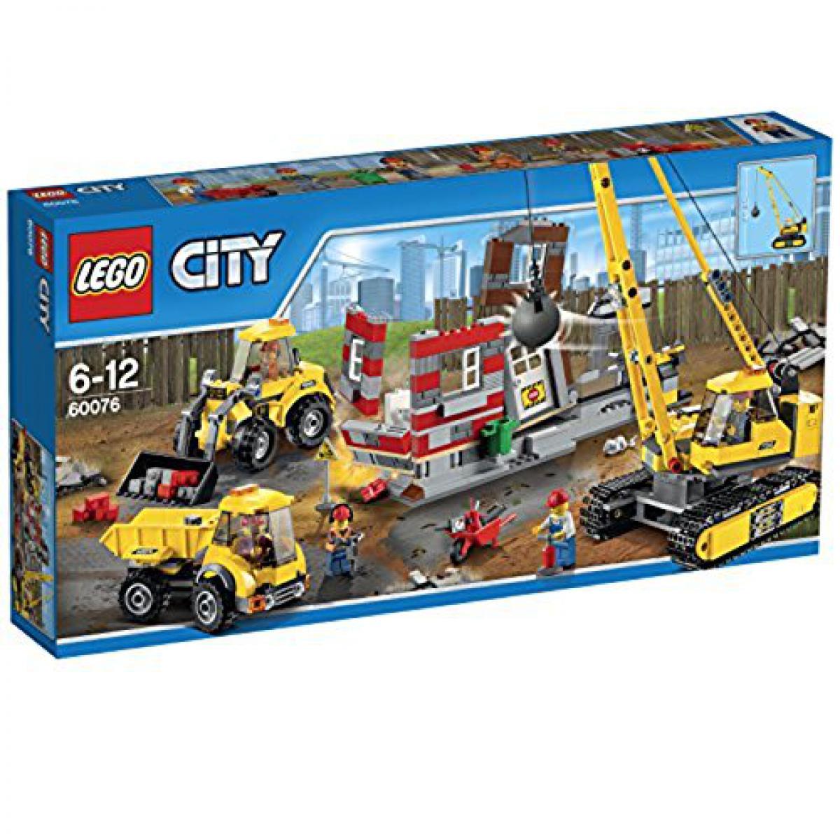 Lego LEgO city 60076 - Abriss Baustelle