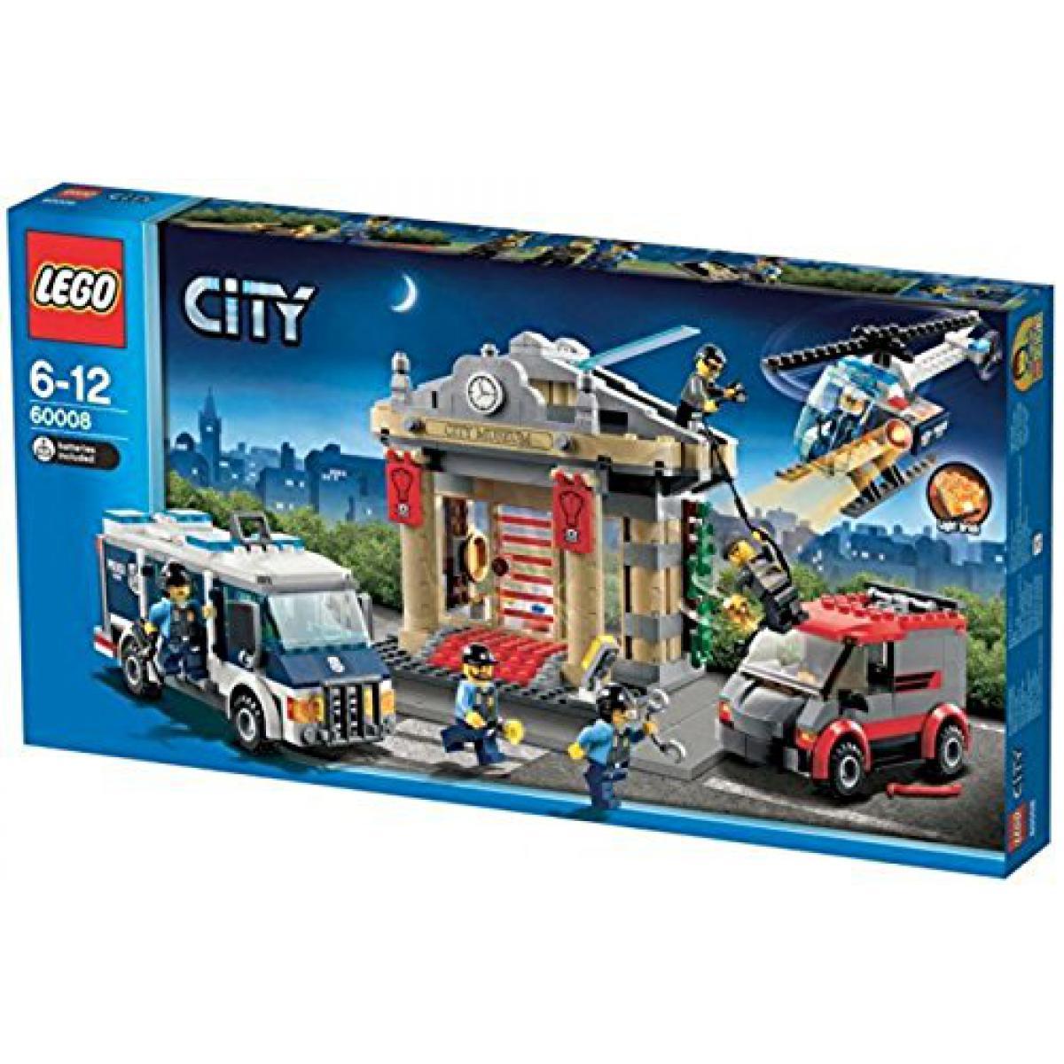 Lego LEgO CITY Cambriolage du musée et unité de police avec six figurines 60008