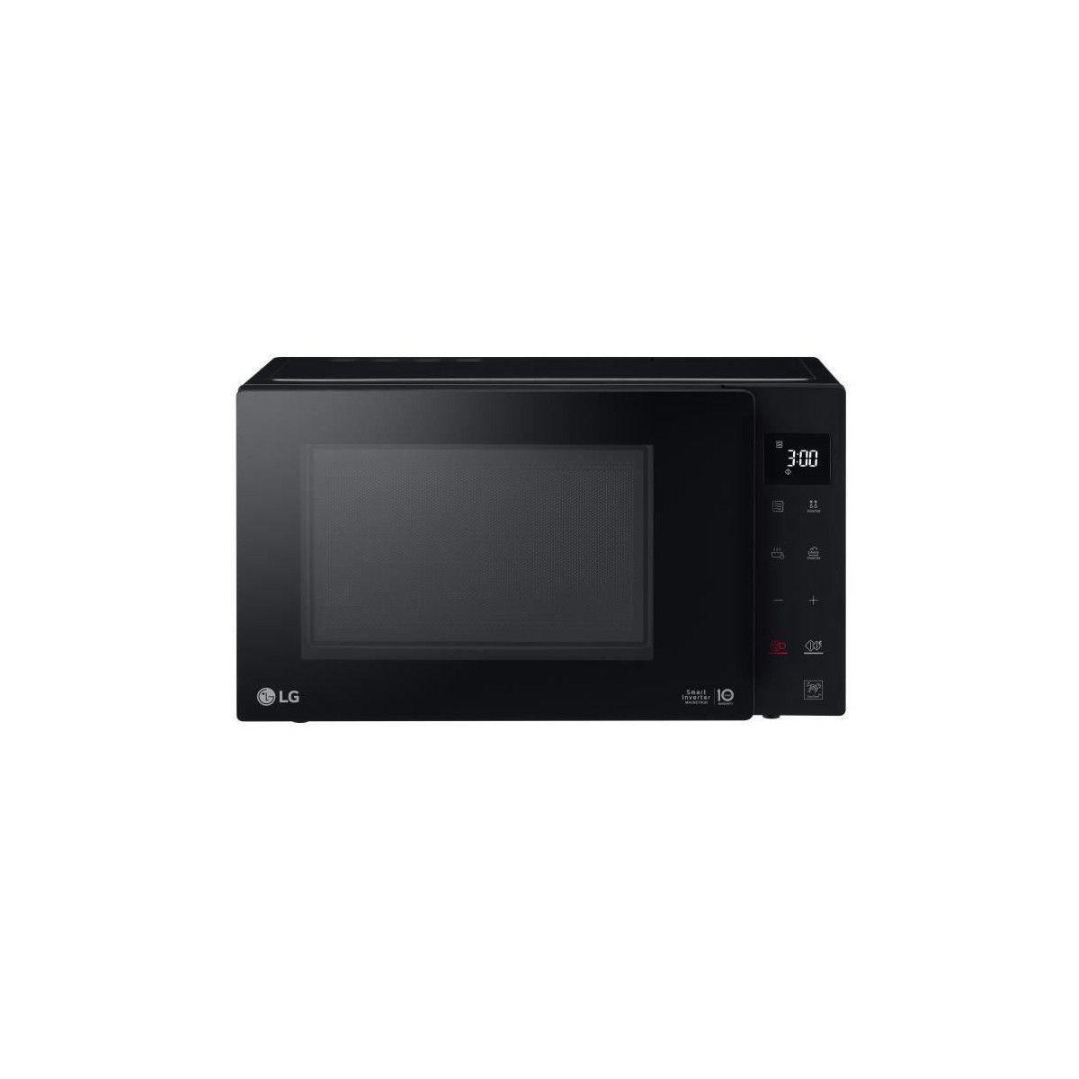 LG Lg Ms3235gib Micro-ondes Monofonction Noir - 32 L - 1200w - Pose Libre