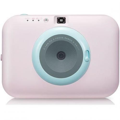 LG - LG PC389 POCKET PHOTO PAPER - Appareil photo instantane - Impression papier - Rose - Appareil compact