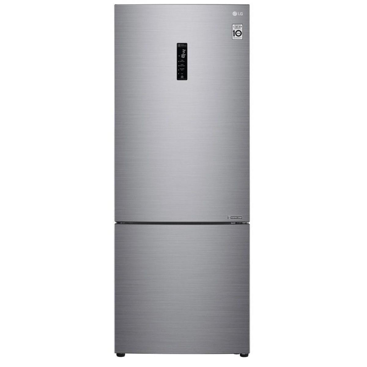 LG Réfrigérateur combiné 329L Froid Ventilé LG 70cm A++, GBB 566 PZHZN