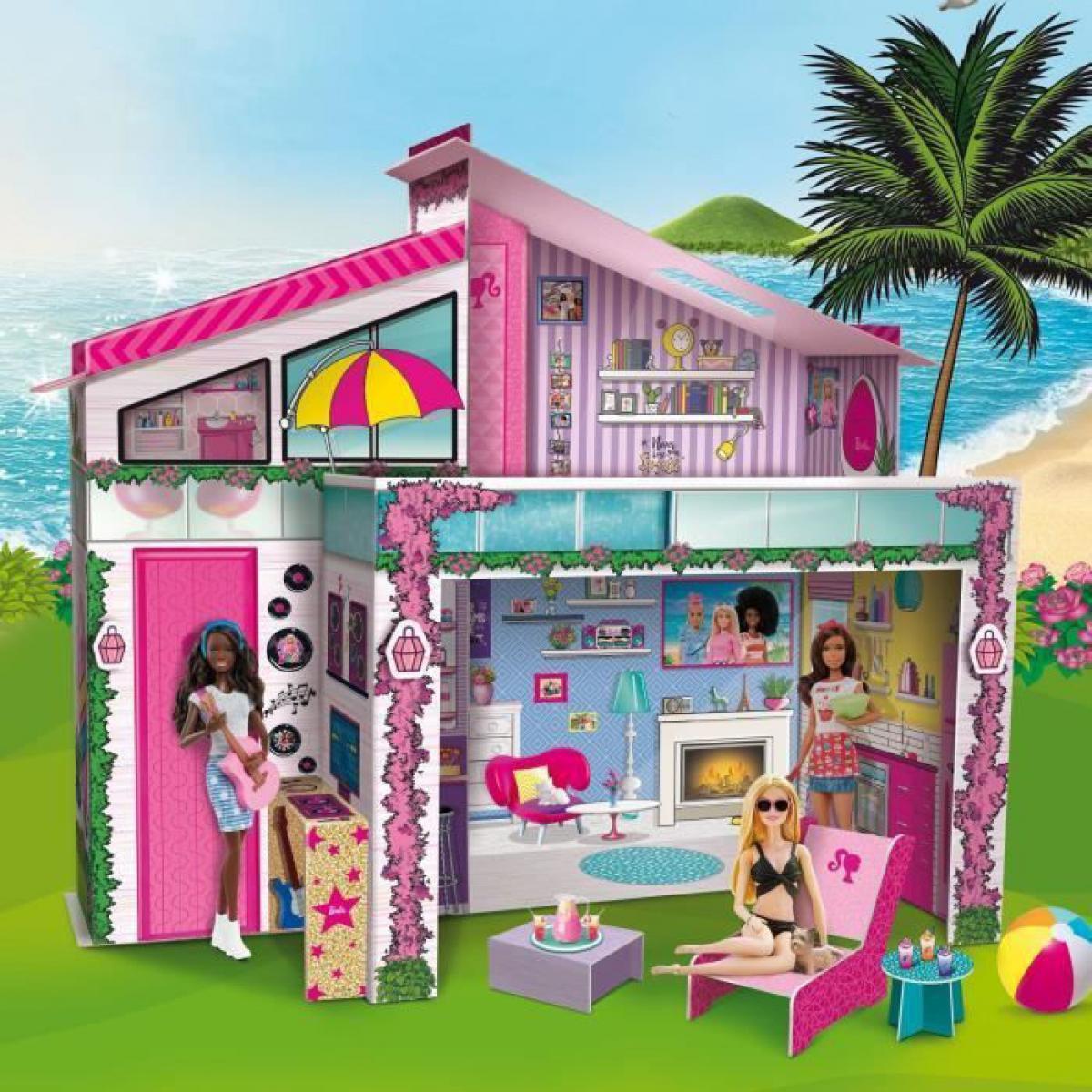 Lisciani Giochi BARBIE Dream Summer Villa Pour Enfant - Maison de poupees