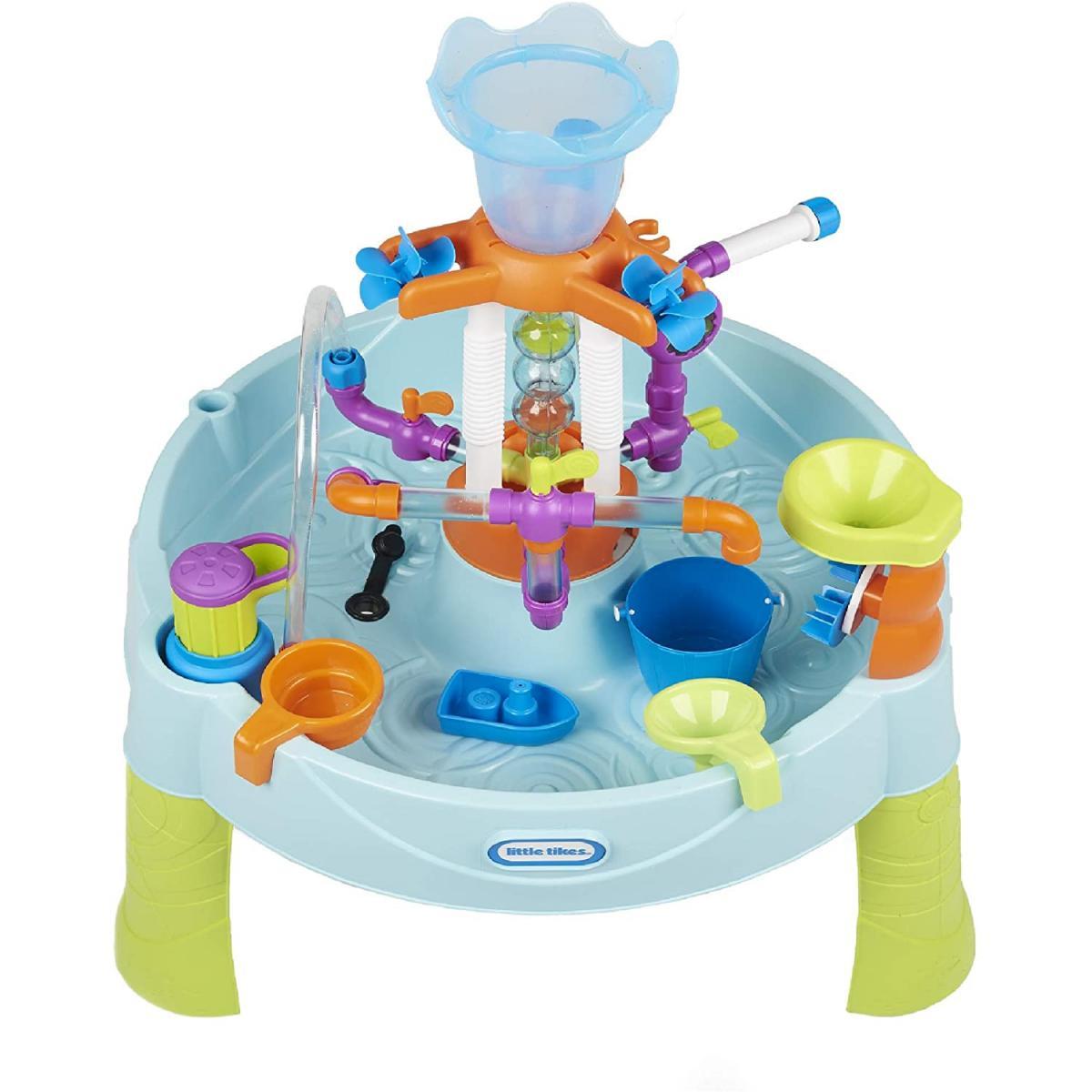 Little Tikes Little Tikes 650666M - Flowin' Fun Une table d'eau robuste avec des éléments interchangeables