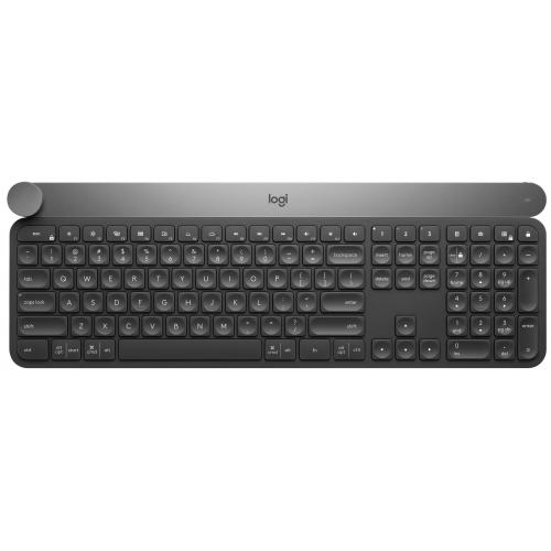 Logitech - Logitech LOGI Craft Advanced Keyboard (UK) Craft Advanced keyboard with creative input dial (UK) INTNL - Clavier
