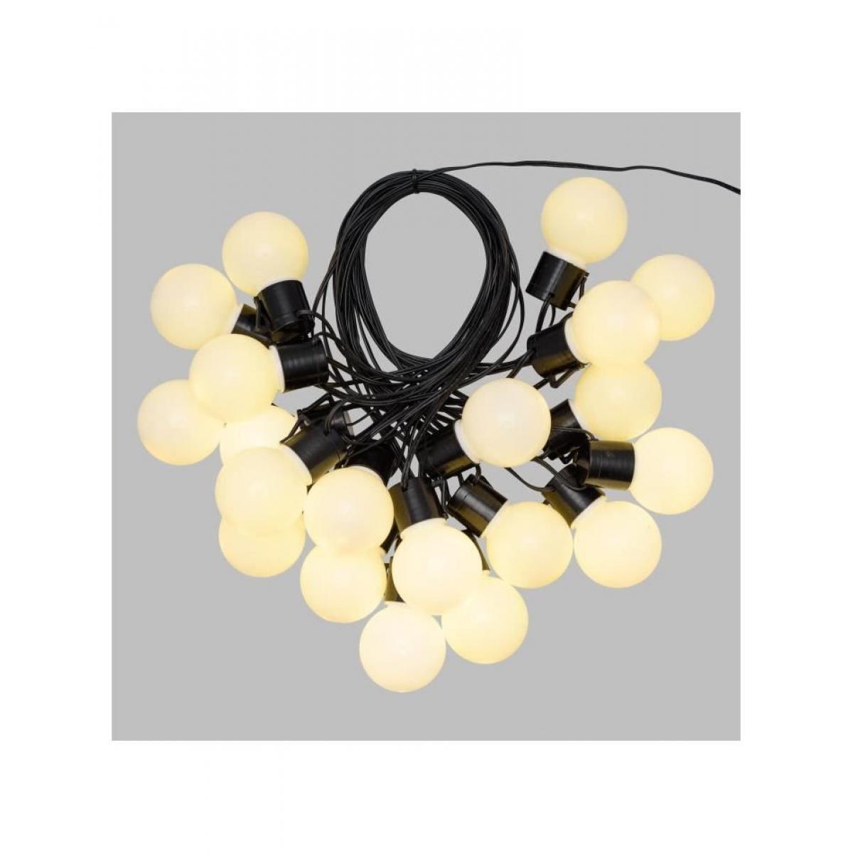 Lotti LOTTI Guirlande lumineuse d'été LED - 10 m - Ø50 x H60 mm - Blanc chaud