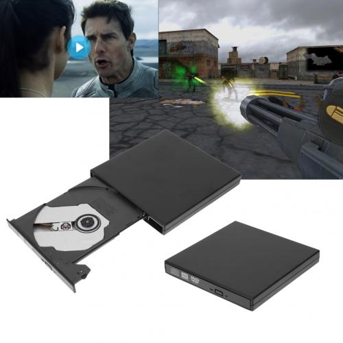 Ltppstore - Graveur Lecteur Externe USB 2.0 DVD-R & CD-RW Windows 2000/XP/Vista/Windows7 - Graveur DVD Interne
