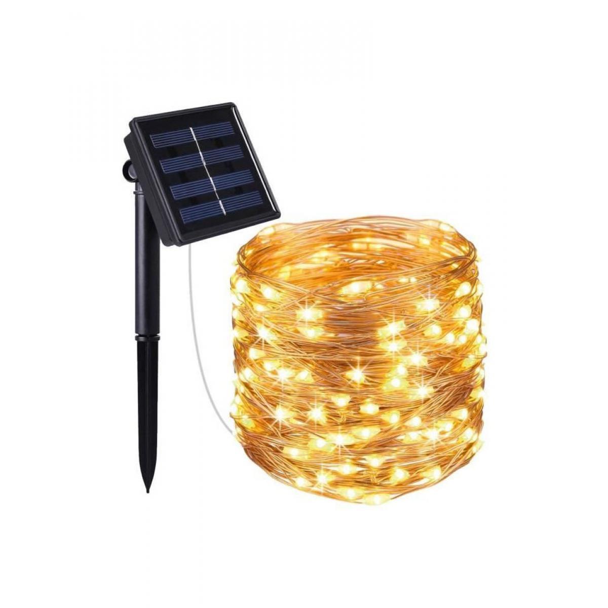 Lumi Jardin LUMI JARDIN Guirlande lumineuse solaire Micro LED Skinny Solar - 100 LED - 1200 cm