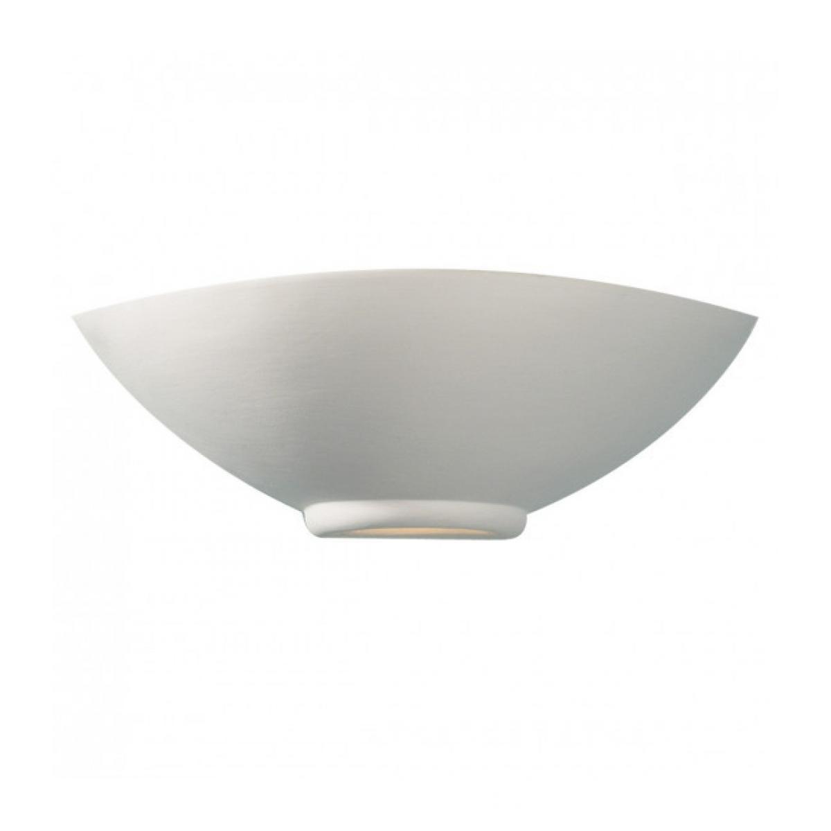 Luminaire Center Applique murale Otis blanc et céramique 1 ampoule