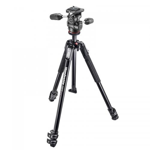 Manfrotto - MANFROTTO Trépied MK190X3-3W1 (MT190X3 + Rotule MH804-3W) - Manfrotto