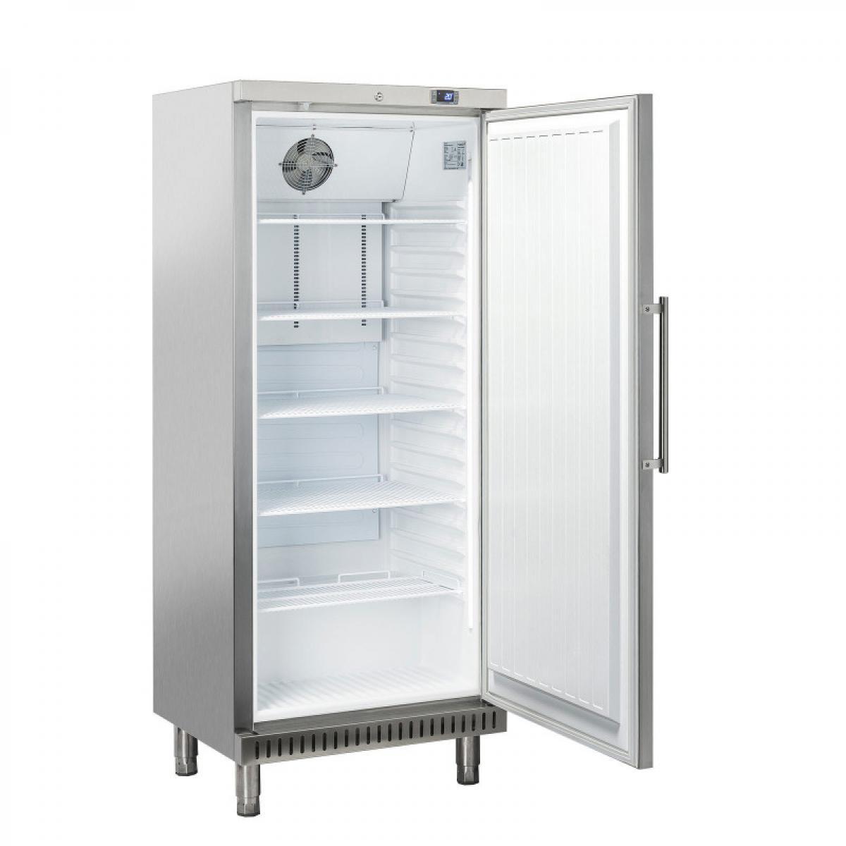 Materiel Chr Pro Armoire à Pâtisserie Réfrigérée Positive Acier Inox - 400 Litres - R600A 1 Porte