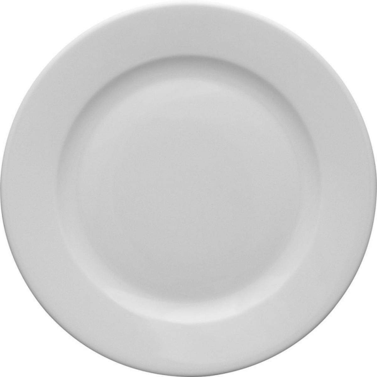 Materiel Chr Pro Assiette Plate en Porcelaine Kaszub Ø 170 à 265 mm - Lot de 6 - Stalgast - 17 cm Porcelaine 17