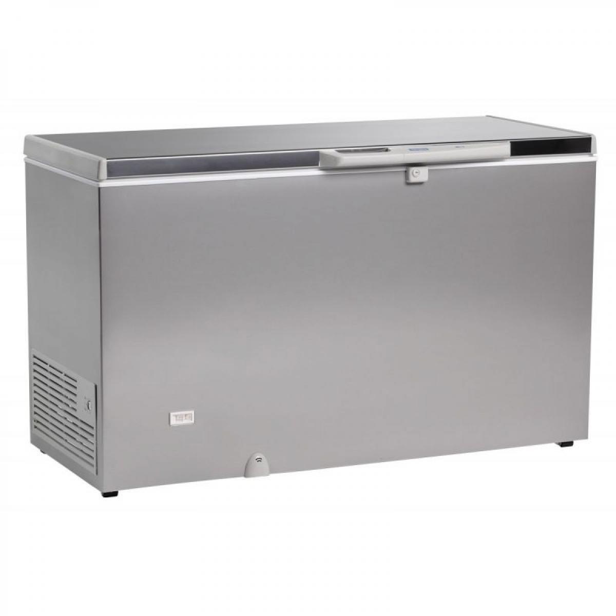 Materiel Chr Pro - Congélateur Coffre Bahut Aspect Inox - 220 à 700 L - R600A 500 Litres