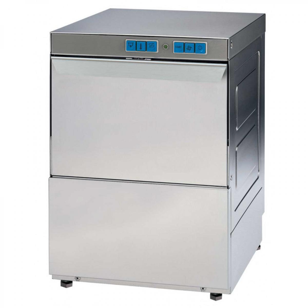 Materiel Chr Pro Lave-vaisselle Série Eco Triphasé - Panier 500 x 500 mm - 400V triphase
