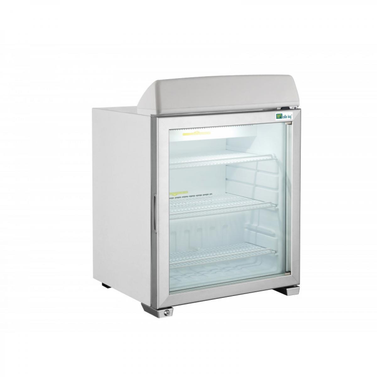 Materiel Chr Pro Mini Armoire Réfrigérée Négative avec Affichage Lumineux - 49 à 99 L - AFI Collin Lucy - R290 1 Porte 49 li