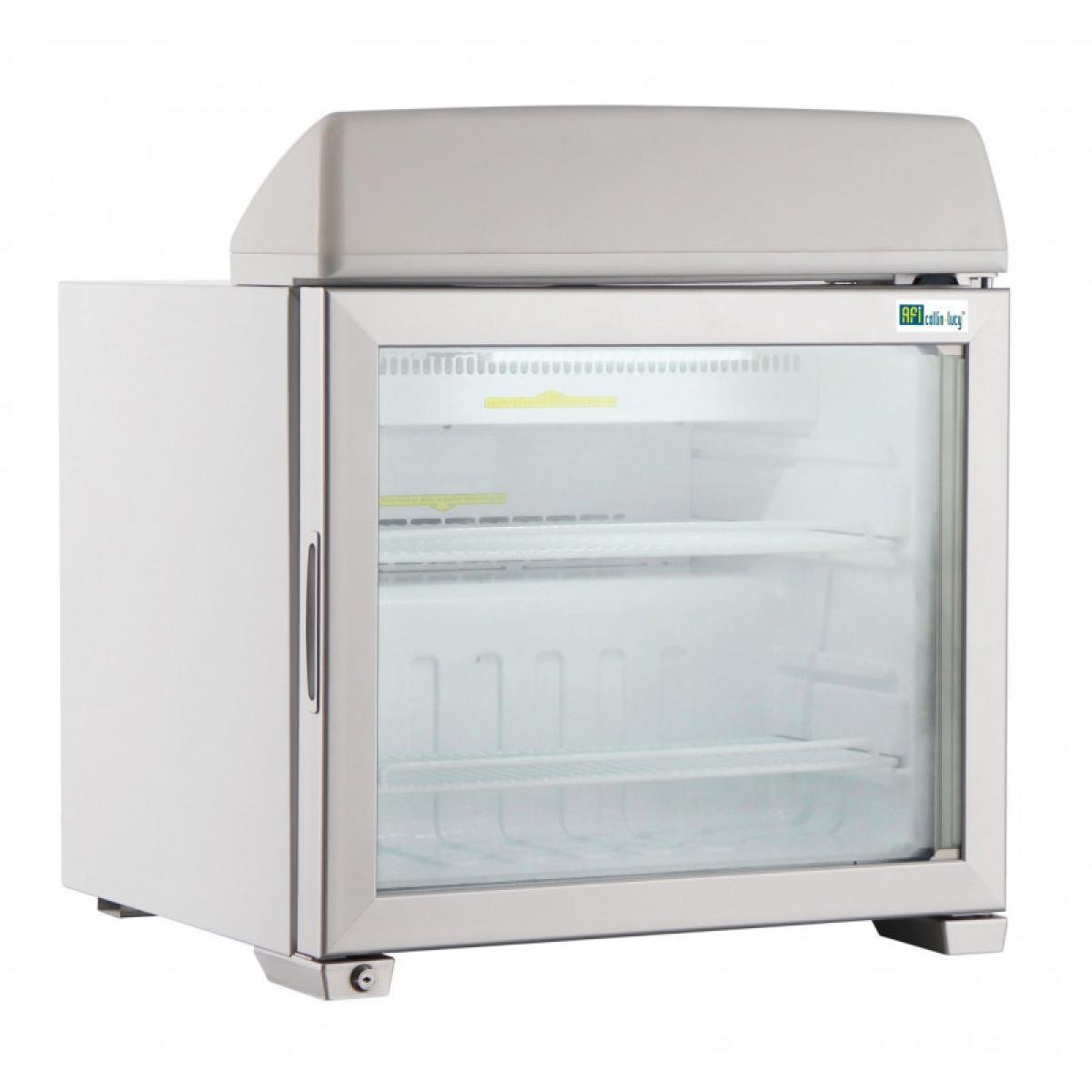 Materiel Chr Pro Mini Armoire Réfrigérée Négative avec Affichage Lumineux - 49 à 99 L - AFI Collin Lucy - R290 1 Porte 99 li