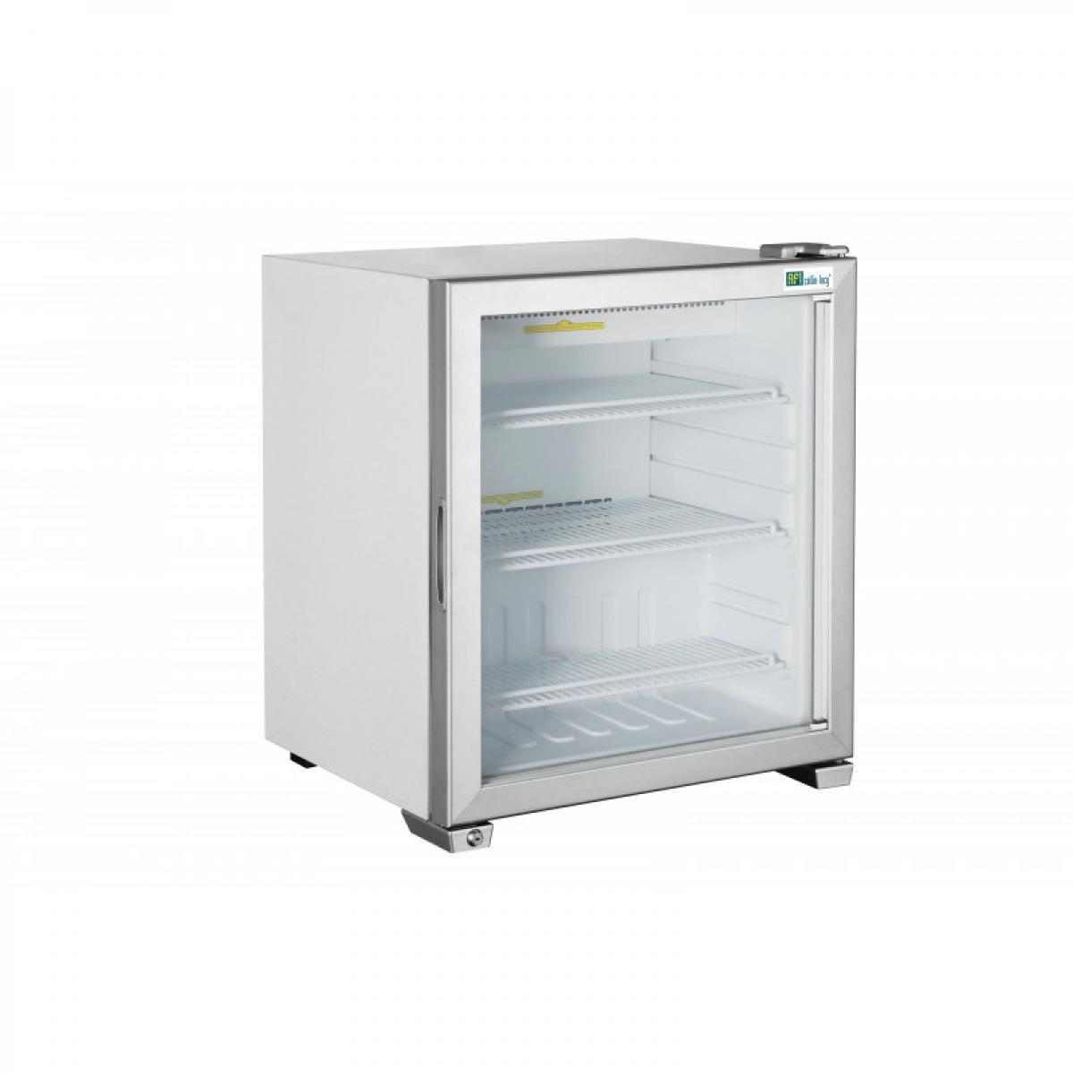 Materiel Chr Pro Mini Armoire Réfrigérée Négative Vitrée - 49 à 99 L - AFI Collin Lucy - R290 1 Porte 49 litres