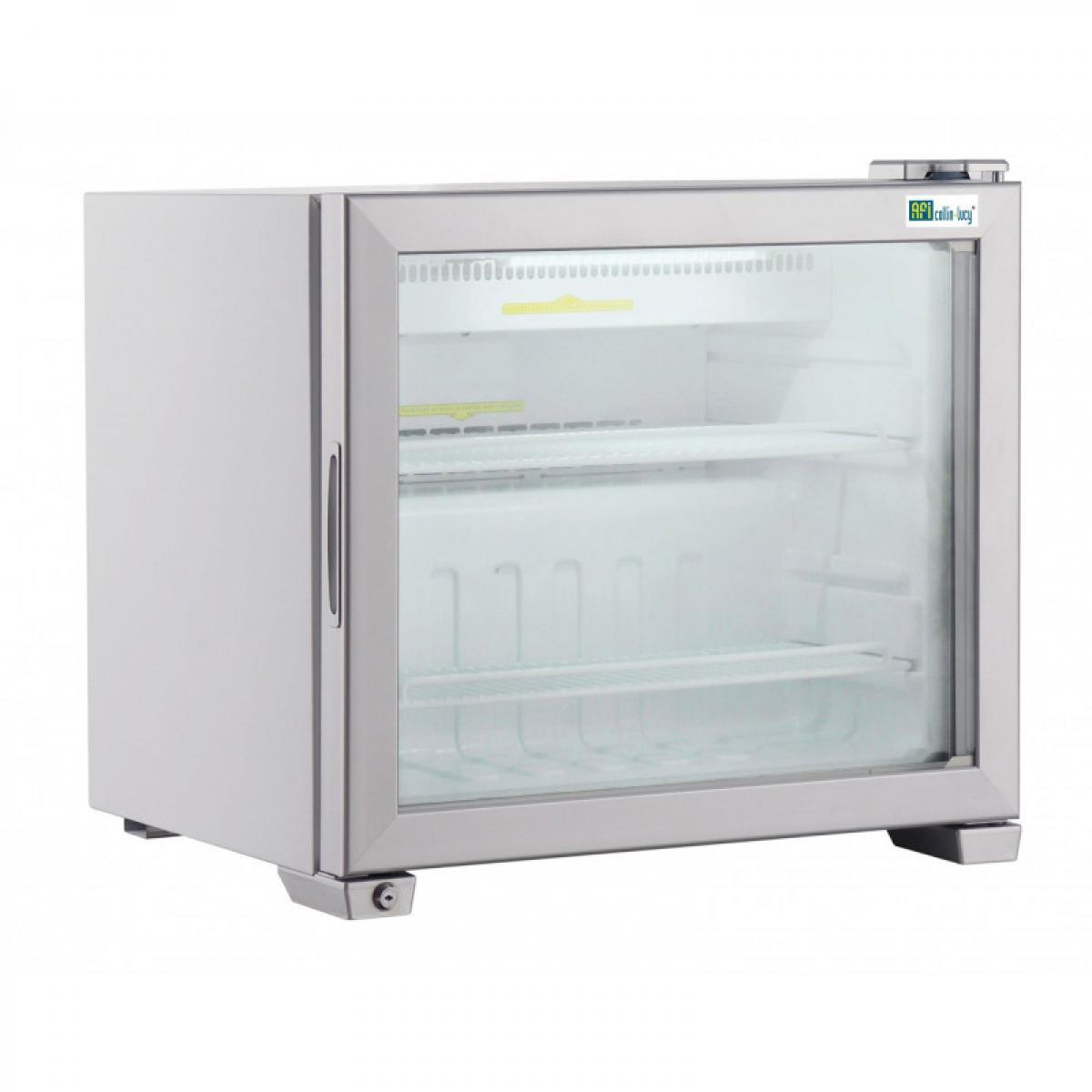 Materiel Chr Pro Mini Armoire Réfrigérée Négative Vitrée - 49 à 99 L - AFI Collin Lucy - R290 1 Porte 99 litres