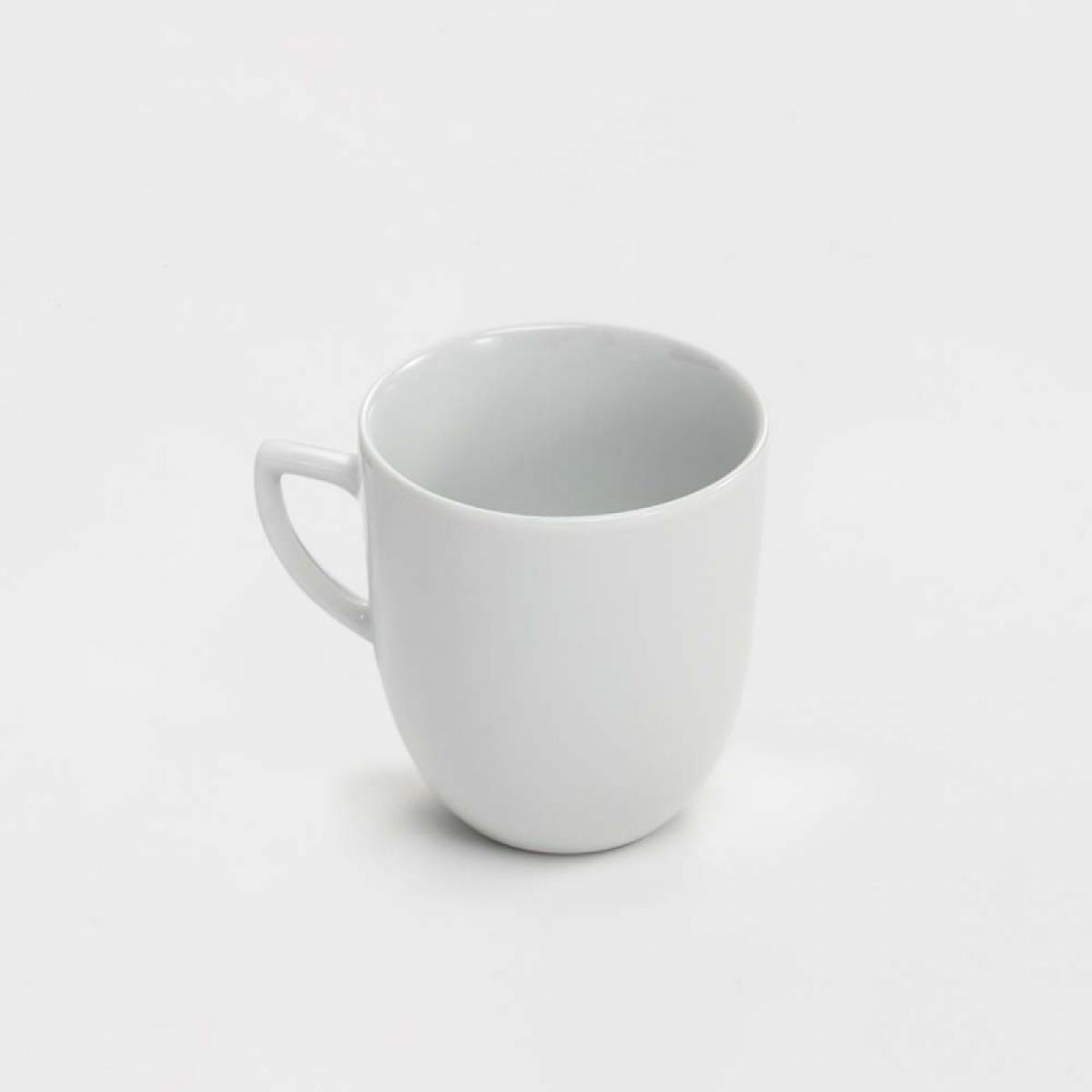 Materiel Chr Pro Mug Porcelaine Blanc Apulia 350 ml - Lot de 6 - Stalgast - 9 cm Porcelaine 35 cl