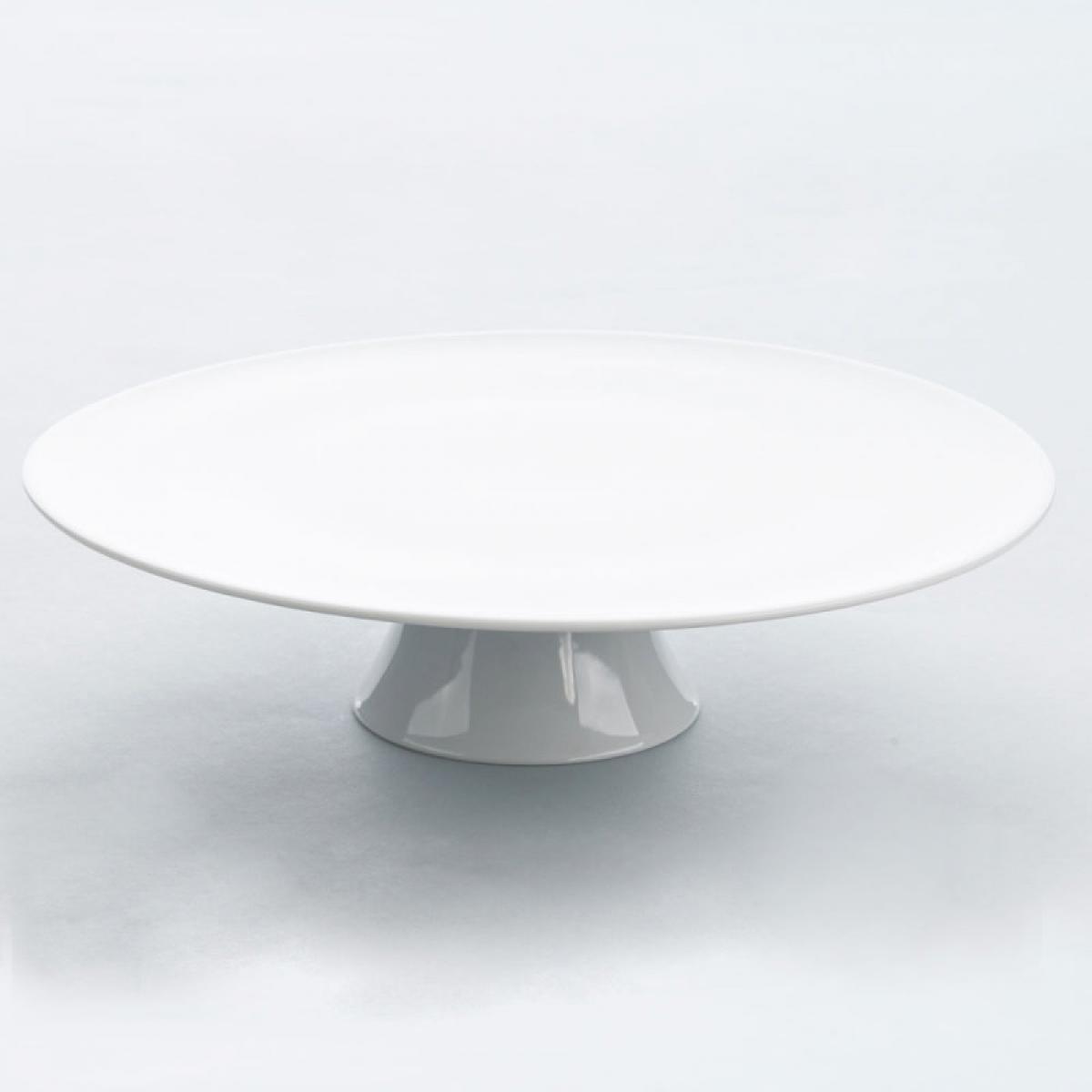 Materiel Chr Pro Présentoir à Gâteau Porcelaine Apulia Ø 32 mm - Stalgast - 32 cm Porcelaine