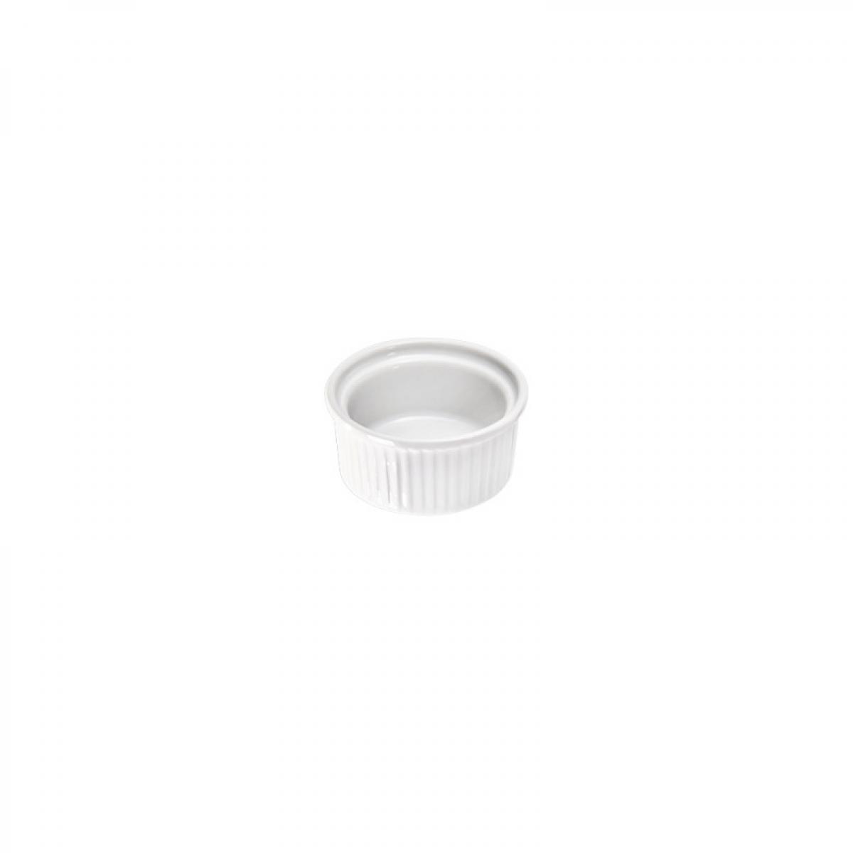 Materiel Chr Pro Ramequin Crème Brûlée par 24 Isabell Ø 70 à 80 mm - Stalgast - 32 mm Porcelaine 60 m