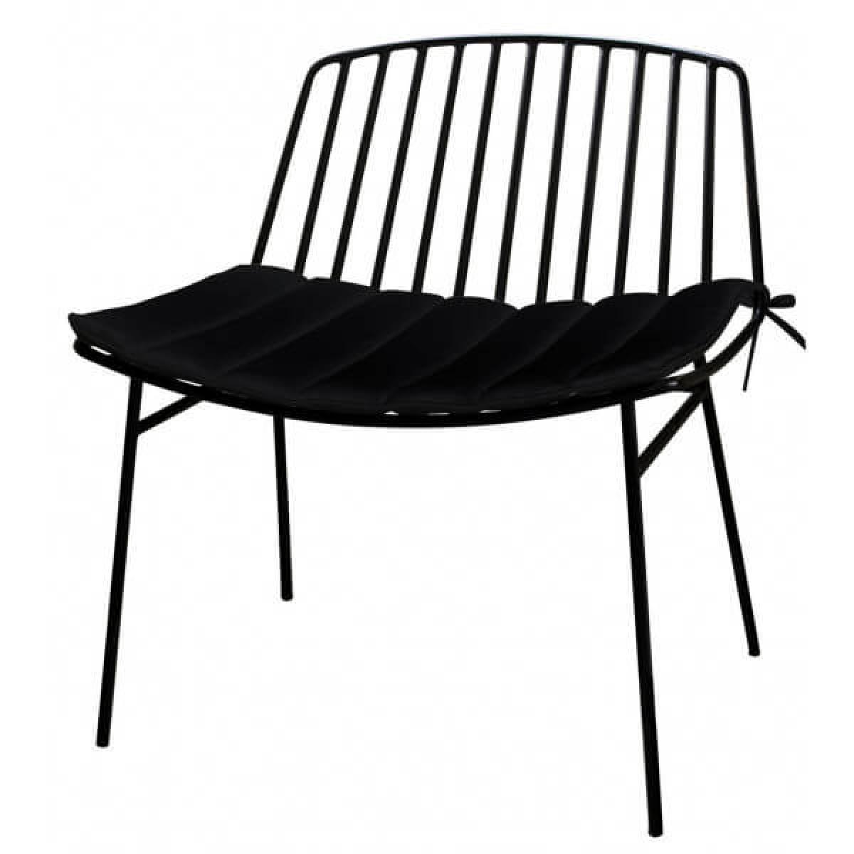 Mathi Design Fauteuil d'extérieur lounge